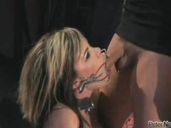 Babe in fun bondage fucked from behind videos