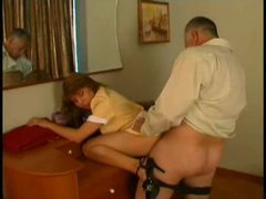 Sexy maid fucked by the old man videos