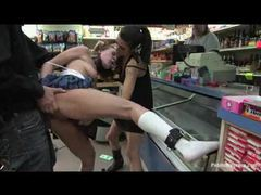 Bondage slut fucked in a conveniece store movies at find-best-pussy.com