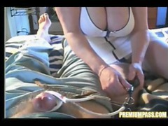Nurse trying to bring his cock back to life videos