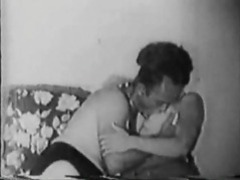 Retro couple kissing and he's sucking her tits movies at find-best-ass.com
