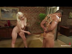 Hot chick using her cane on his body movies at find-best-ass.com