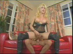 Blonde in boots and her man trade fucks movies at kilotop.com