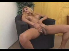 Blonde tranny is pretty well hung videos