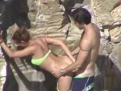 Bj joins bikini girl at beach for a fuck tubes