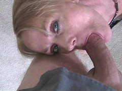 Freckled milf is a hot cock gobbler tubes