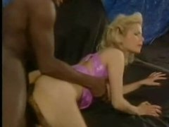 Black cock fucking her in classic scene tubes
