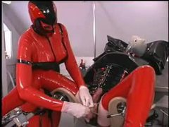 Latex femdom with cbt movies at find-best-lingerie.com