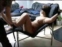 Girlfriend likes bondage and he loves kinky sluts movies at kilosex.com