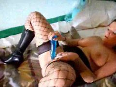 Sexy toy play with lusty blonde solo girl tubes