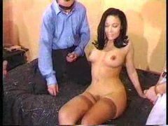 Attractive gal ends up in a gangbang videos