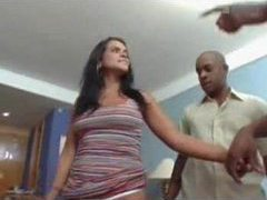 Latina and the big black cock fucking videos