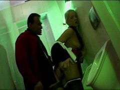 Hot fucking in the club bathroom movies at adspics.com