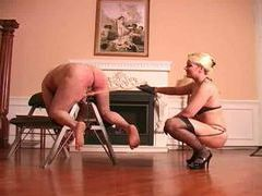 Painful caning for the male submissive movies at kilotop.com