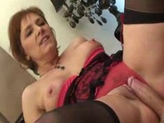 Hot mother in law in lingerie fucked lustily videos