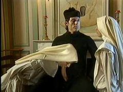 Naughty nun can take a fisting in her snatch videos