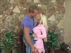 Blonde putting a strapon in his asshole movies at very-sexy.com