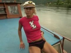 The boating babe fucks her pussy movies at find-best-panties.com