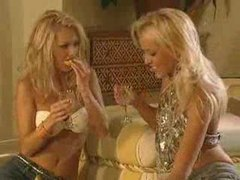 Lusty lesbian sex scene with smoking hot blondes videos