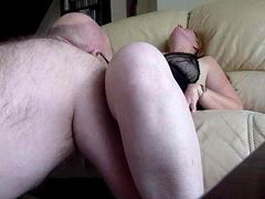 Man between her legs eating amateur pussy movies at dailyadult.info