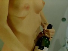 Chick does a bottle and then john holmes movies