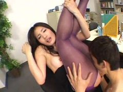 Ripping open her pantyhose and fucked lustily tubes at japanese.sgirls.net