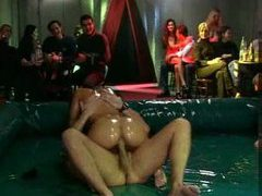 Everyone is oily in this wild orgy scene movies at dailyadult.info
