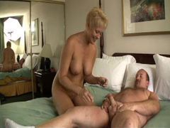 Hotel room hardcore sex with blonde and her man videos