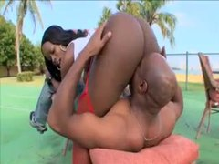 Outdoor hardcore with naughty black girl videos