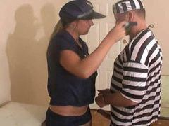 Prisoner fucks a lady cop and fucks her hard movies at find-best-ass.com
