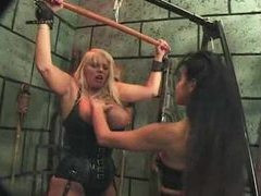 Femdom pain in this dungeon is sizzling hot movies at very-sexy.com