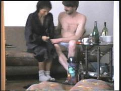 Sex with his skinny wife on video movies at sgirls.net