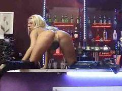 Busty and hot with big tits on bar movies at adspics.com