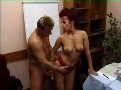 Fucking a lusty redhead in her pussy movies at sgirls.net