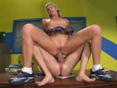 Pigtailed schoolgirl ashley long fucked hard videos