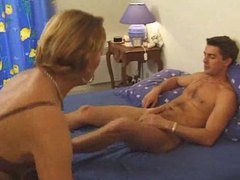 Fucking the french mom and loving her pussy videos