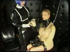 Rubber submissive entombed videos
