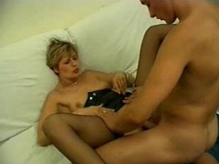 Big cock fucking her pussy and her asshole videos