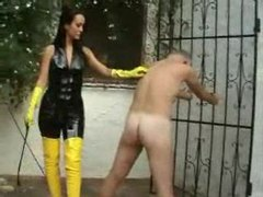 Male slave spanked and taken by strapon movies at find-best-lingerie.com