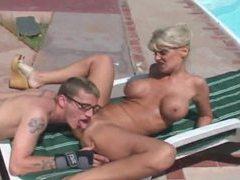 Sexy outdoor hardcore with blonde slut movies at sgirls.net