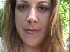 Brunette blows pov and gets facial videos