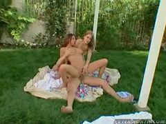 Banging two hot sluts outdoors is fun movies