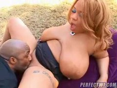 Huge black slut boned doggystyle outdoors movies at kilotop.com