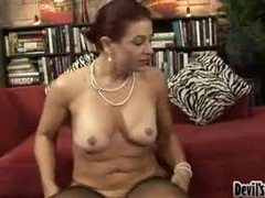 Cock loving milf and her hairy pussy sex videos