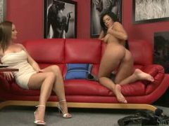 Silvia saint watches a pretty girl get naked videos
