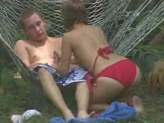 Voyeur video of couple fucking in the backyard movies at find-best-hardcore.com