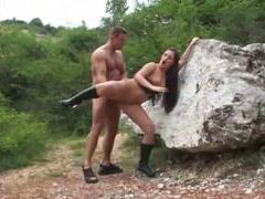 Anal sex in the woods with a hottie movies at kilopics.net