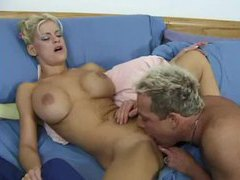 They wake up and a blonde gets her pussy pounded videos