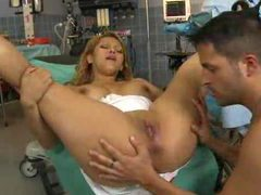 Nurse fucked in the hospital room by a big cock videos