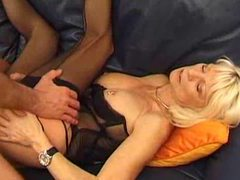 Heavily pierced milf in lingerie screwed movies at freekiloporn.com